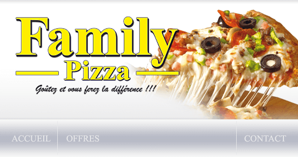 Family Pizza - 34, rue des Pilliers - 95200 SARCELLES VILLAGE - Tél : 01 39 33 00 00